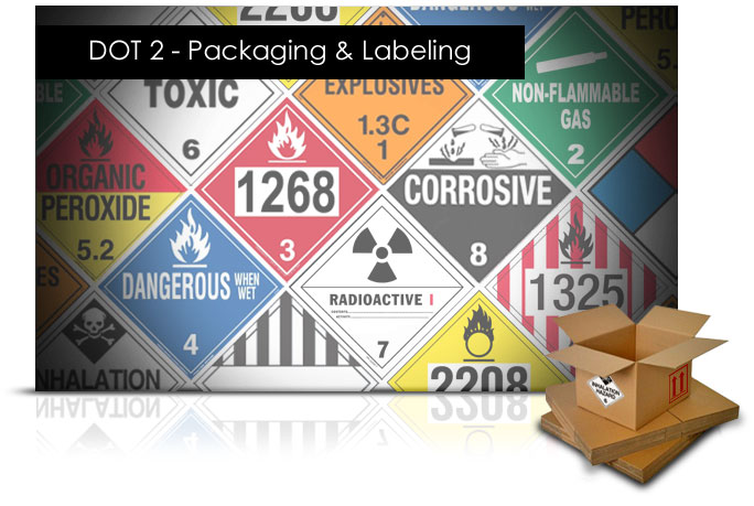 DOT 2: Packaging and Labeling elearning Course