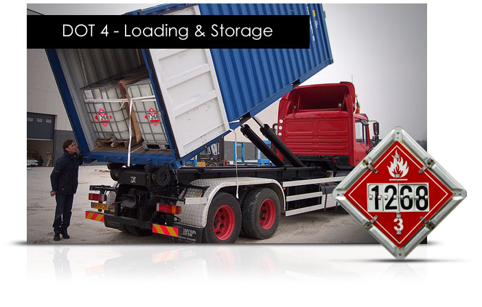 DOT 4: Loading and Storage elearning Course