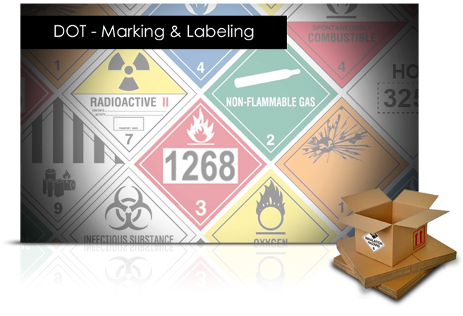 DOT - Marking and Labeling elearning course