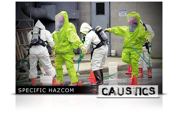 Specific HazCom - Caustics (Acids & Alkalis) Elearning Course